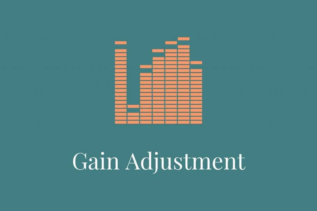 Hearing aid gain adjustment online