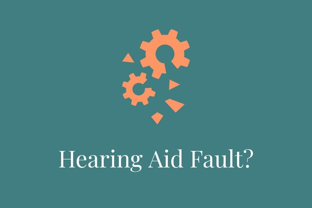 hearing aid diagnostics & fault checking